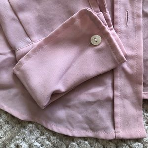 Light pink long sleeve button up
